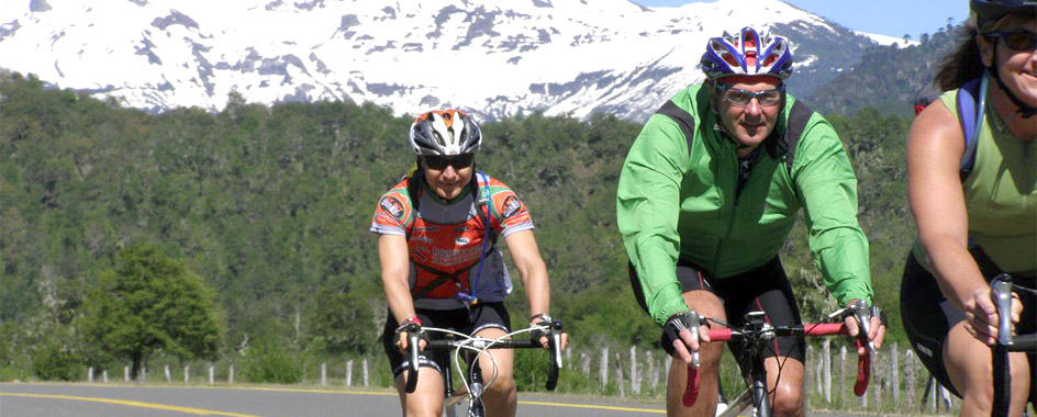 bike and hike tours chile lake and volcano district