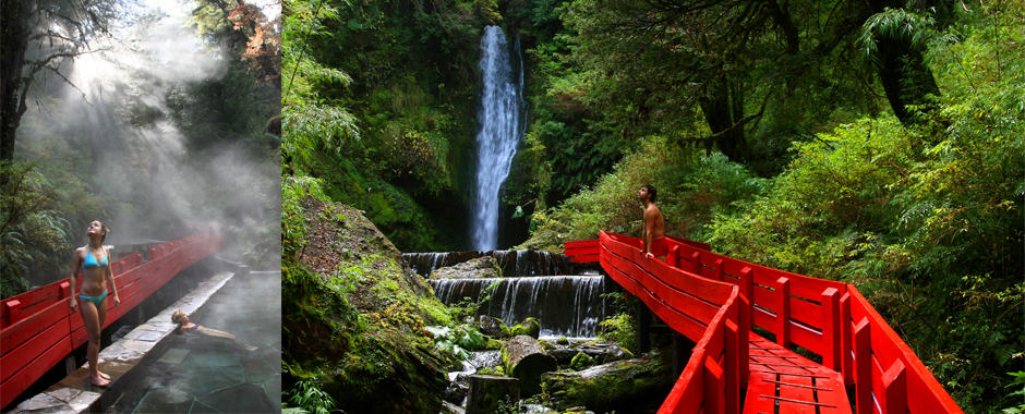 Hiking Villarrica National Park