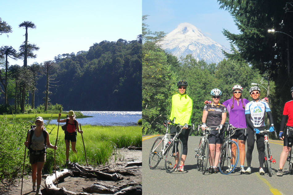 Bike and Hike in Chile - Pucon area.