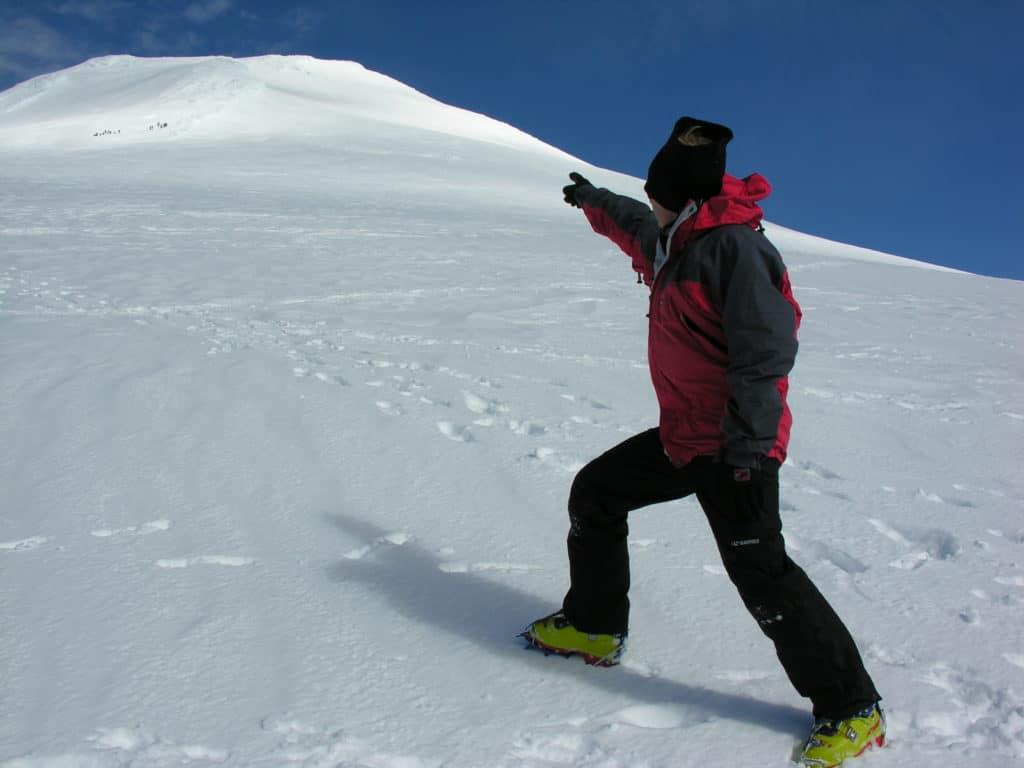 Villarrica Volcano Ski Resort July 2016